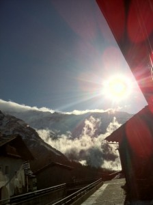 Panorama mattina